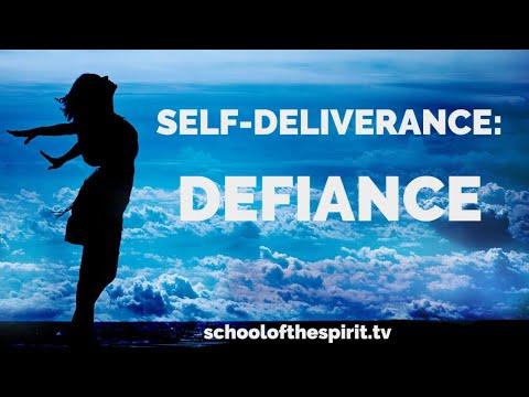 Deliverance from the Spirit of Defiance | Self-Deliverance Prayers