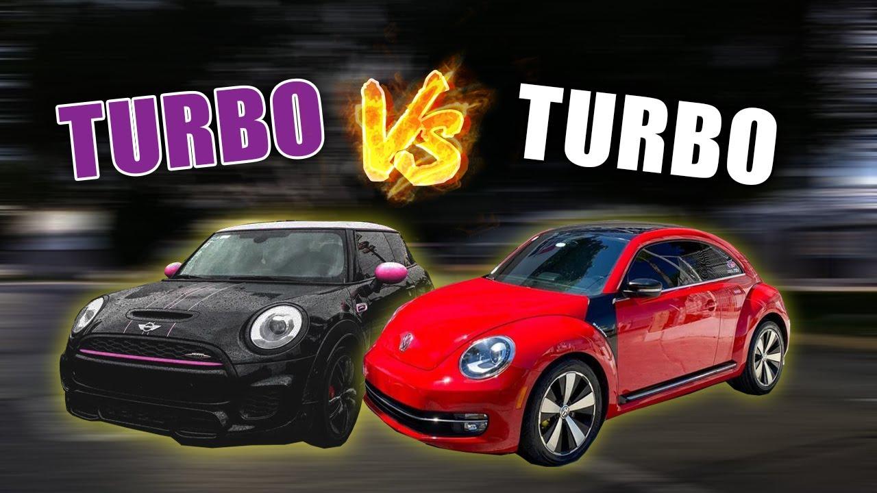 MINI COOPER JCW VS BEETLE TURBO || ANDREA NAVARRO