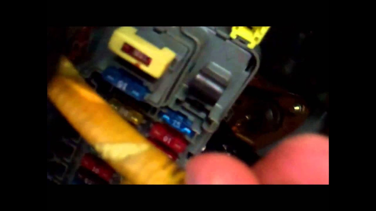 fuse diagram for 1993 honda civic travel trailer inverter wiring 1992 1994 1995 srs stuck on light fix simple & quick - youtube