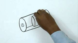 How to Draw a 3D Battery