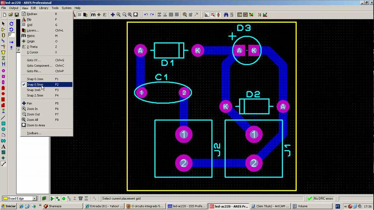 Télécharger Ares Proteus 8 – Réalisation de circuits imprimés