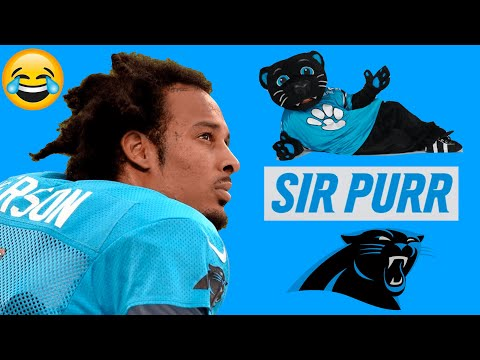 Robby Anderson Has No Idea who Panthers Mascot,
