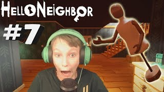 FLYGANDE DOCKA! | Hello Neighbor #7