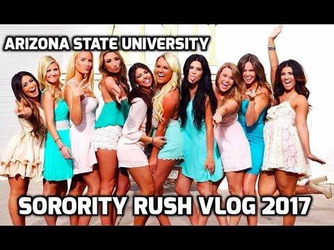 MY SORORITY RUSH EXPERIENCE VLOG // Arizona State University