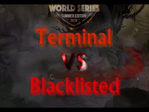 Espec Insano! DWS - Terminal vs Blacklisted