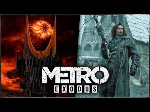 ЕЩЁ 11 НОВЫХ ПАСХАЛОК и СЕКРЕТОВ в METRO: EXODUS (Регина, Око Саурона, Ван Хельсинг)