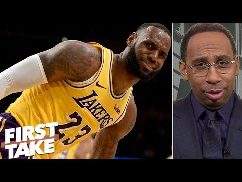 LeBron 'isn't choking at the free throw line' – Stephen A. | First Take