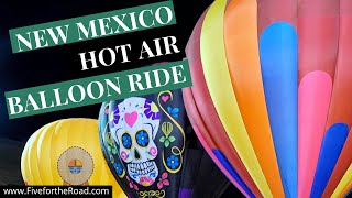 Stepping Out of My Comfort Zone | Hot Air Balloon Ride in New Mexico | Family Travel Vlog 15