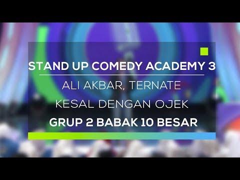 Stand Up Comedy Academy 3 : Ali Akbar, Ternate - Kesal Dengan Ojek