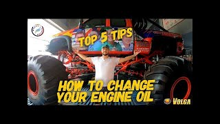 How to change your engine oil: (COMPLETE GUIDE) Top 5 tips for car maintenance
