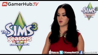 Katy Perry Goes Virtual in Electronic Arts The Sims 3 Seasons