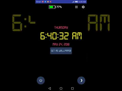 Digital Clock Live Wallpaper is simple and easy to use app. It support both digital and analog types of clock. You can customize time format, change time, ...