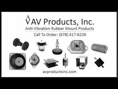 Anti Vibration Rubber Mounts | Vibration Isolators