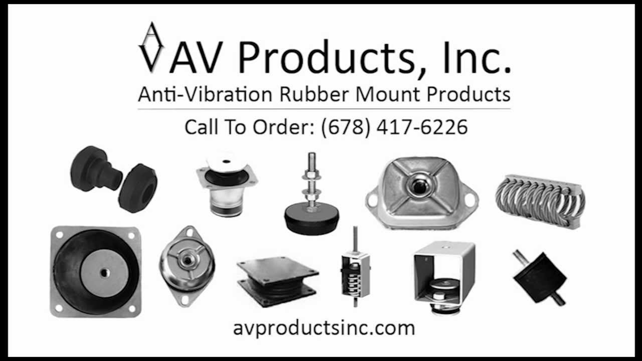 Anti Vibration Rubber Mounts Vibration Isolators Youtube