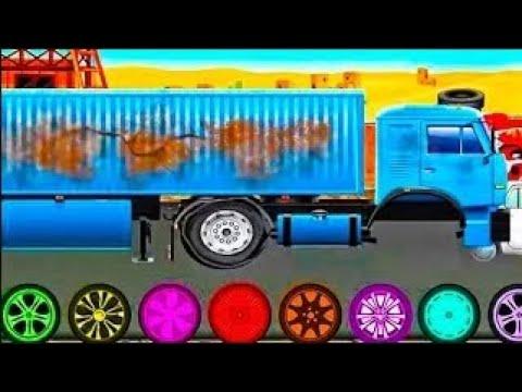 Мультфильмы про машинки - Эвакуатор и ремонт машин! Мультики для детей 2020 года - Игра для малышей.