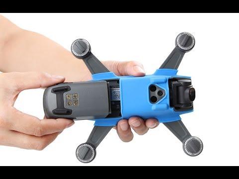 Текстильный чехол для диджиай spark защита камеры черная фантом оригинал от производителя