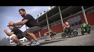 Kawasaki Fitness Video - Hinter den Kulissen!  | Jens Kuck
