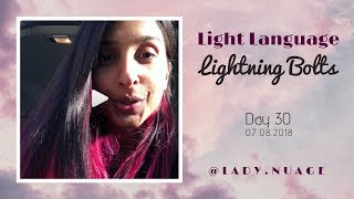 Light Language - Lady Nuage - Lightning Bolt #30