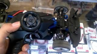 Пропорциональное управление поворотом колёс радиоуправляемой модели автомобиля 1:10  - Видео №1