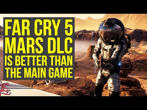 Far Cry 5 Lost On Mars Gameplay Is WAY BETTER Than Hours Of Darkness (Far Cry 5 DLC Review)