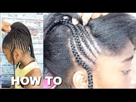 Cornrows Bun Hairstyles 2017