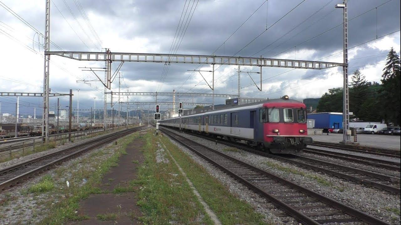 Viel Bahnverkehr in Muttenz (CH) - 02.09.2017 - YouTube
