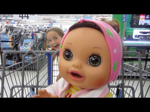Shopping With Baby Alive Real Surprises Pees And Poops