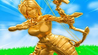 THICCEST GOLD CHICK IN FORTNITE!