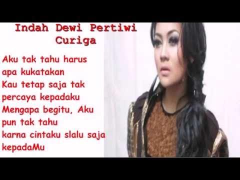 Indah Dewi Pertiwi - Curiga Lirik Lagu HD