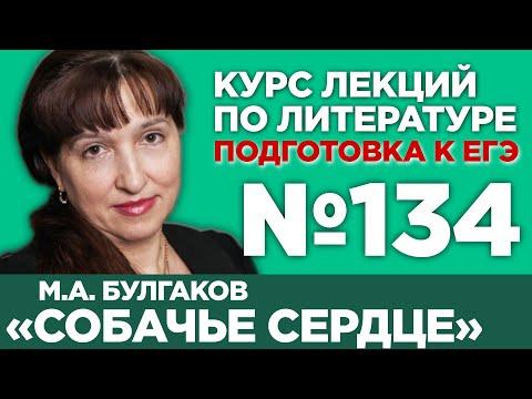 М.А. Булгаков «Собачье сердце» (содержательный анализ) | Лекция №134
