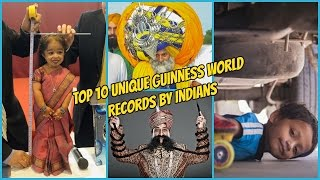 Top 10 Unique Guinness World Records By Indians