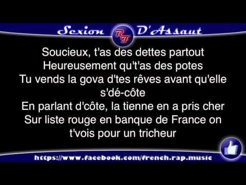Sexion d'Assaut - J'Reste Debout (Paroles) HD 2012 (Lyrics) poster
