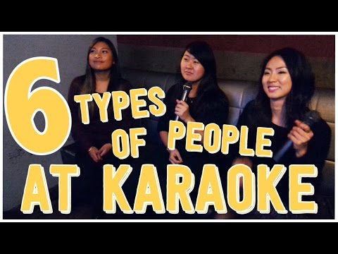 6 Types of People You See at Karaoke