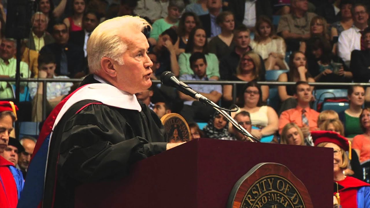 Martin Sheen Receives Honorary Doctor of Humane Letters Degree from the University of Dayton