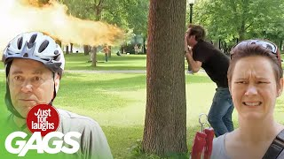 Best of Fire Pranks Vol. 2   Just for Laughs Compilation