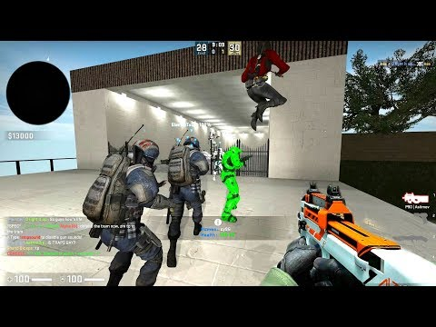 CS GO - Zombie Escape Mod - Ze_clara_civitate_v3 - Level 1 & 2