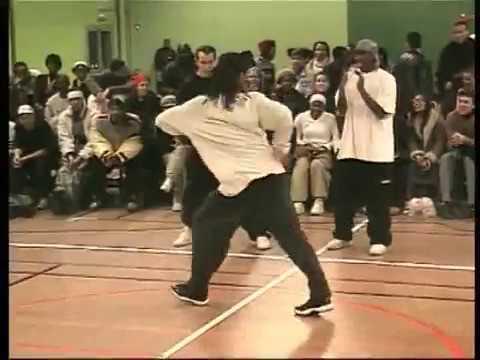 Juste Debout 2002 - Hip hop final - Rabah & Didier vs Rickysoul & Erwann