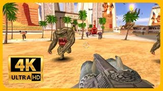 Serious Sam The First Encounter - PC Gameplay in 4K 60FPS ( childhood memories )