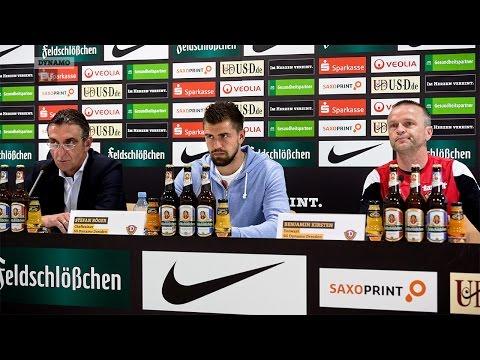 5. Spieltag | RWE - SGD | Pressekonferenz vor dem Spiel