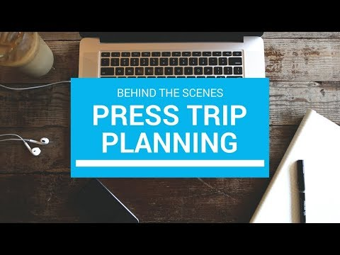 The Difference Between Personal and Press Trip Planning
