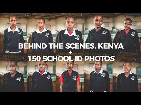 Road Trip to Kericho, Kenya + 150 School ID photos