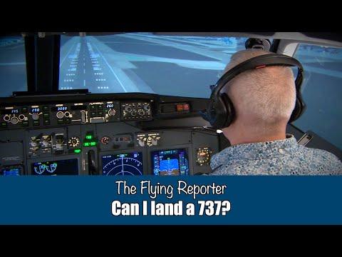 Can a PA28 pilot land a 737?