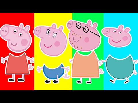Baby Learn Colors Peppa Pig Wrong Colors Crying Pig Finger