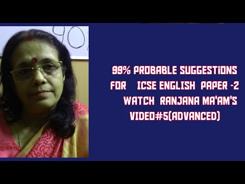 HIGHLY PROBABLE SUGGESTIONS FOR ICSE LITERATURE PAPER 2019