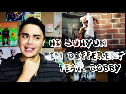 HI SUHYUN - I'M DIFFERENT (ft. BOBBY) MV Reaction