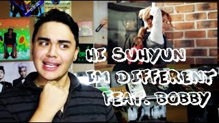 hi suhyun im different ft bobby mv reaction