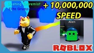 Ich bin der schnellste Spieler auf dem Mond - Roblox Dashing Simulator *10M Geschwindigkeit*