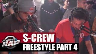 Freestyle de S-Crew en live dans Planète Rap