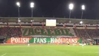 EL: Zagłebie Lubin - Partizan Belgrad [Zagłębie fans] 2016-07-21