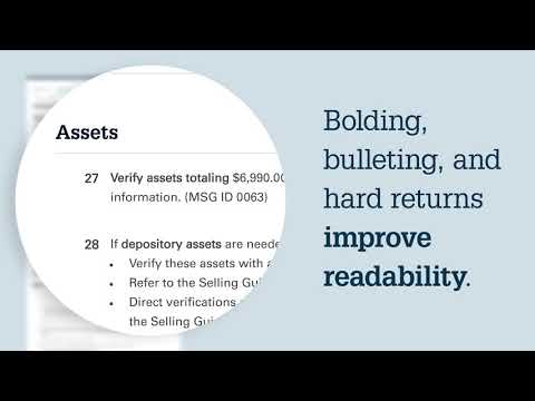 The new DU Findings Report is here! - YouTube And Tube Wiring Fannie Mae on tube dimensions, tube assembly, tube fuses, tube terminals,